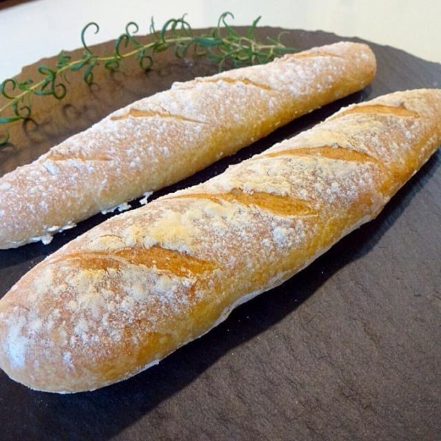 วันนี้ลองทำปาเก็ตครั้งแรก ปลื้มมากอร่อยสุดๆ สวยด้วย เฮ้อน้ำตาจะไหล - 9件のもぐもぐ - French baguettes by sirakorn owada