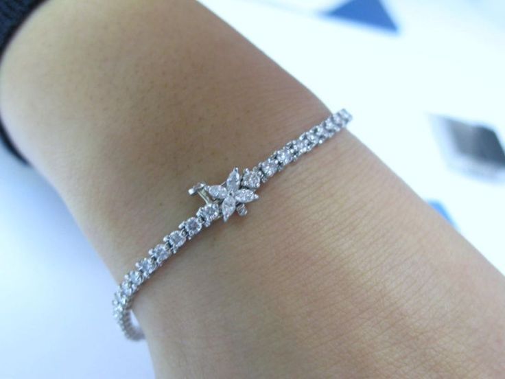 Tiffany Victoria Diamond Tennis Bracelet