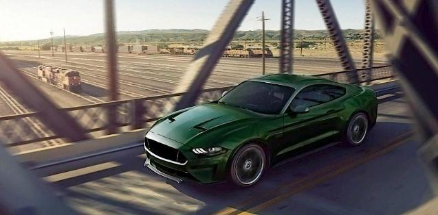 2018 Ford Mustang Bullitt Concept