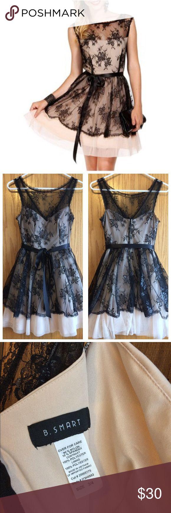B smart black dress quinceanera