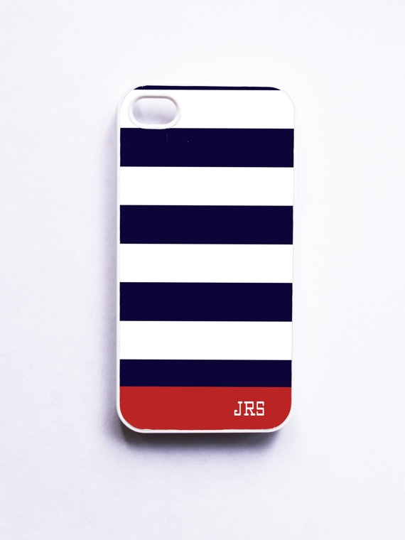 Personalized Nautical Stripe