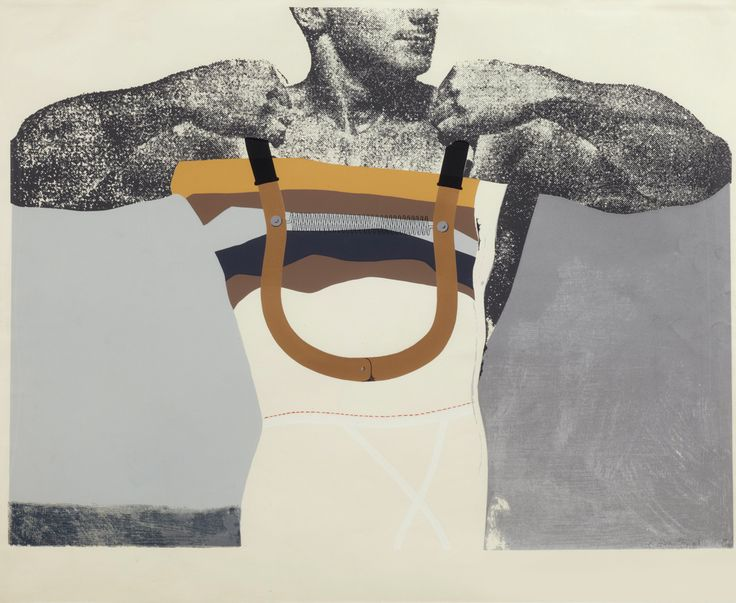 RICHARD HAMILTON http://www.widewalls.ch/artist/richard-hamilton/ #collage #painting #pop #art