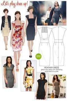 Dress pattern (very similar to one Kate Middleton's worn)