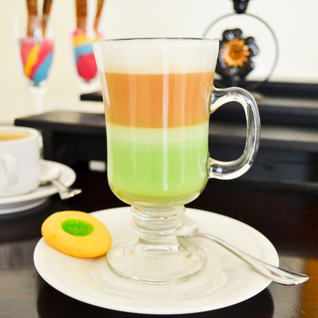 How about Green Tea Latte from Arion Swiss-Belhotel Kemang for today break fasting?