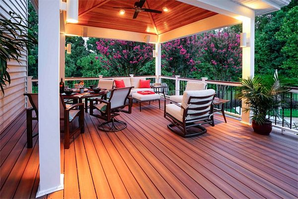 20 Timber Decking Designs that can Append Beauty of your Homes | Home Design Lover #pinmydreambackyard