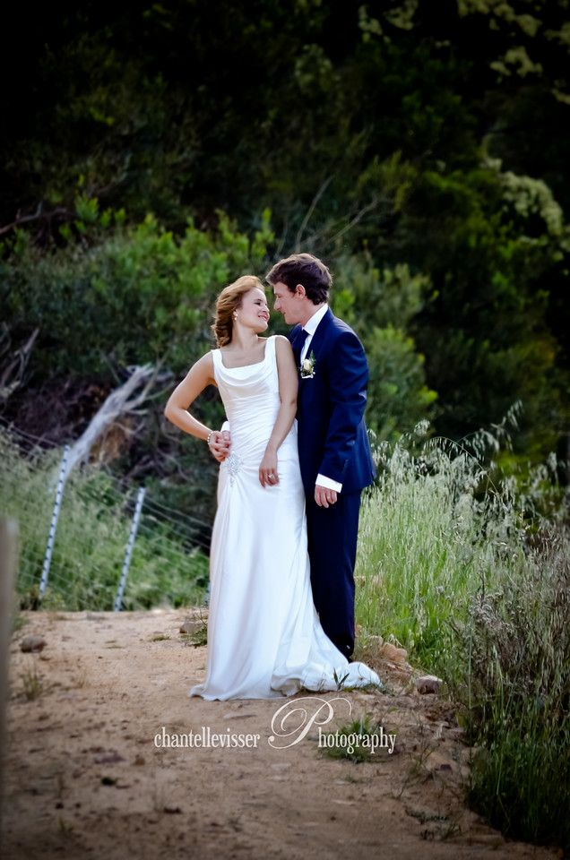 Beautiful red headed Bride in a Classic silk gown | Weddings - Chantelle Visser Photography