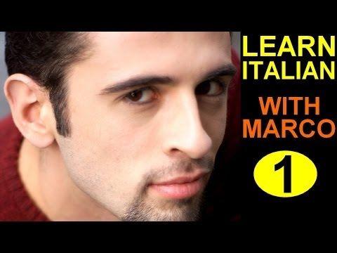 Learn Italian 1 Italian Course LIVE FROM ITALY - YouTube