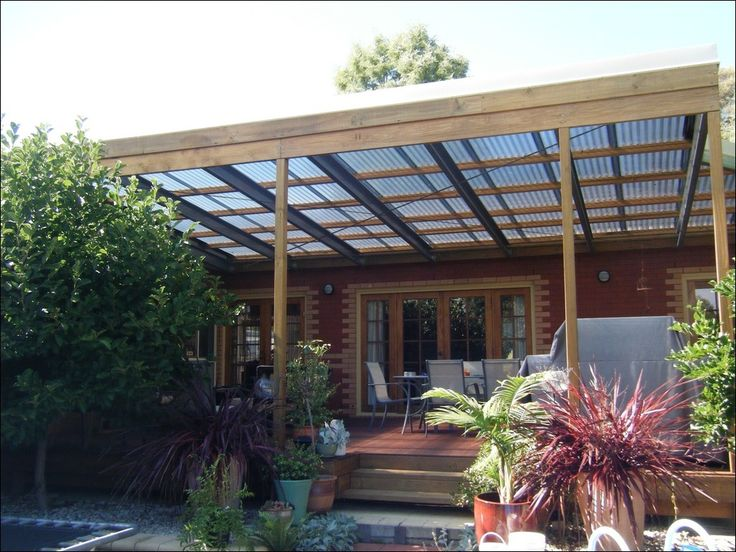 Patio Cover Roof Options