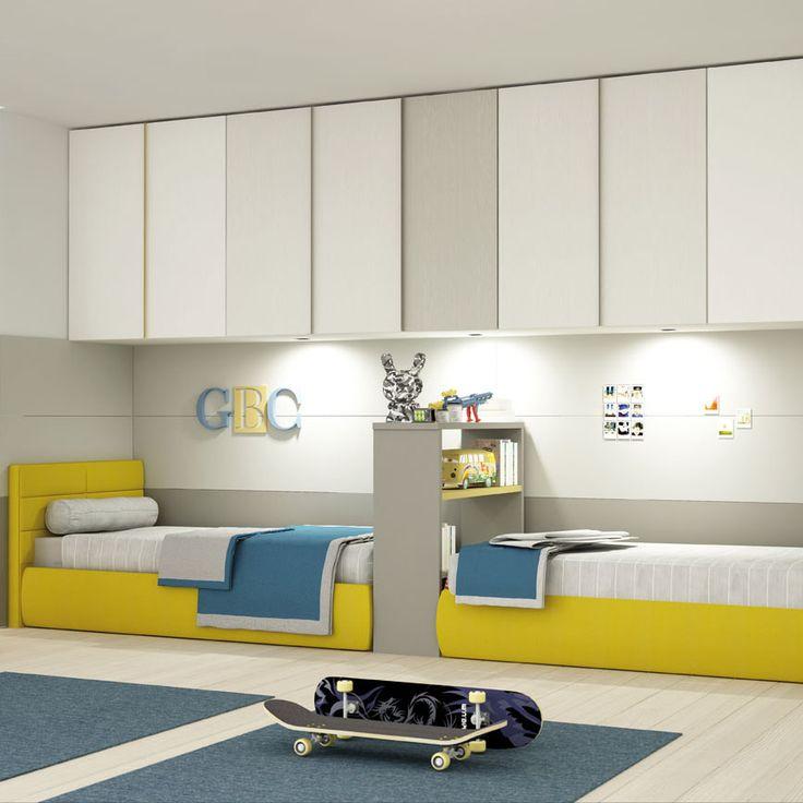 cameretta-colore-grigio-giallo