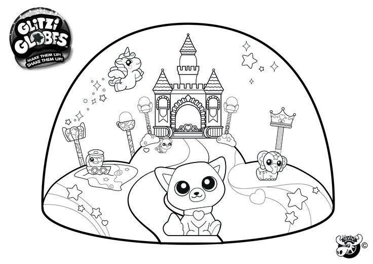 crystal ball coloring pages - photo#46