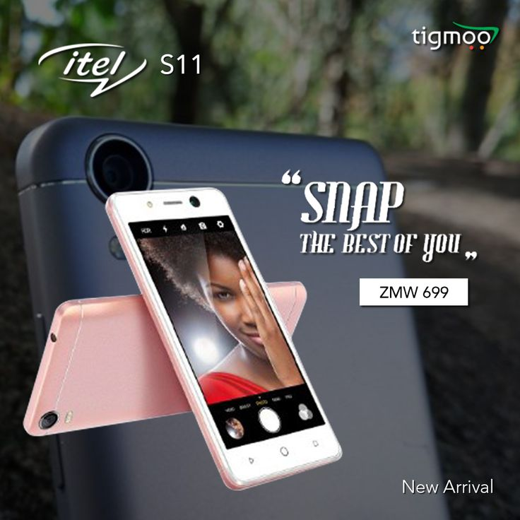 Snap the best of you with #itelS11, another #NewArrival at tigmoo  Available at the price of ZMW 699 in #ROSEGOLD colour: https://www.tigmoo.com/itel-s11-8-gb-rose-gold.html #Snapthebestofyou
