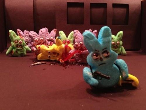 Walking Dead Peeps! | Funny HA HA | Pinterest | Peeps ... Peep Show Easter
