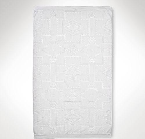 Ralph Lauren Home Southwestern Towel White Beach