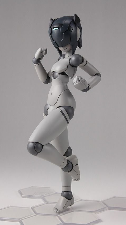 ,Polynian MMM Shamrock (Gray Flesh) Complete Action Figure,Collectible  listed at CDJapan! Get it delivered safely by SAL, EMS, FedEx and save with CDJapan Rewards!