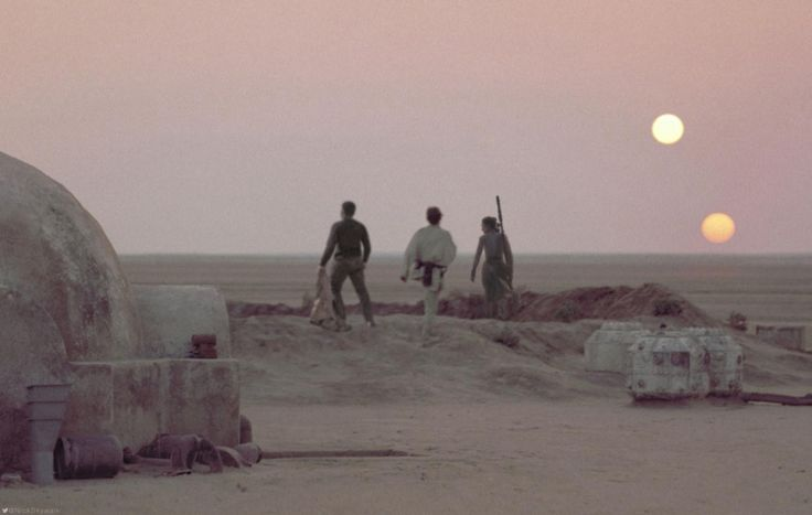 Finn, Luke and Rey.