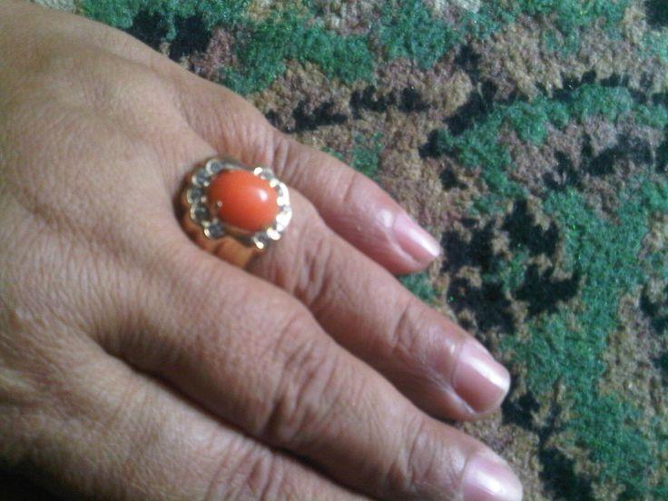 Orange rubby....