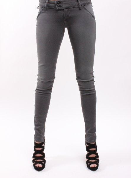 €109.95 Grijze Met Injeans skinny jeans online bestellen bij www.hermanschoenen.nl
