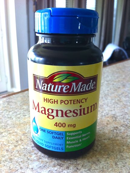 Magic pill! Sleep aid, digestion aid and more. And my bro in law works for the company that makes Nature Made. ;)