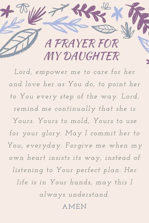 Prayer for my mother in law