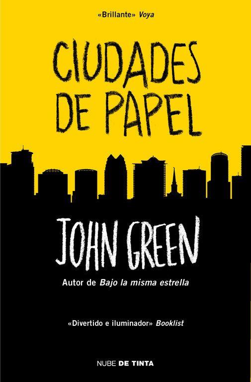 """Reseña del libro """"ciudades de papel"""" de John Green para la actividad del club de lectura ReadBloggerLine."""