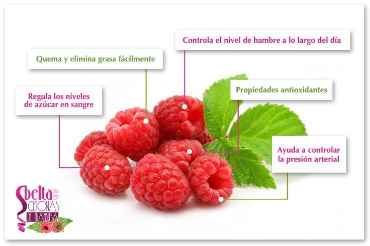Las cetonas de frambuesa son un compuesto que se encuentra sobre todo en las frambuesas y que es eficaz en la pérdida de peso.