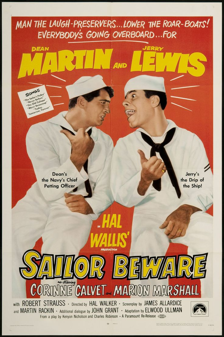 re-release movie poster | Sailor Beware 1968 re Release U s One Sheet Movie Poster