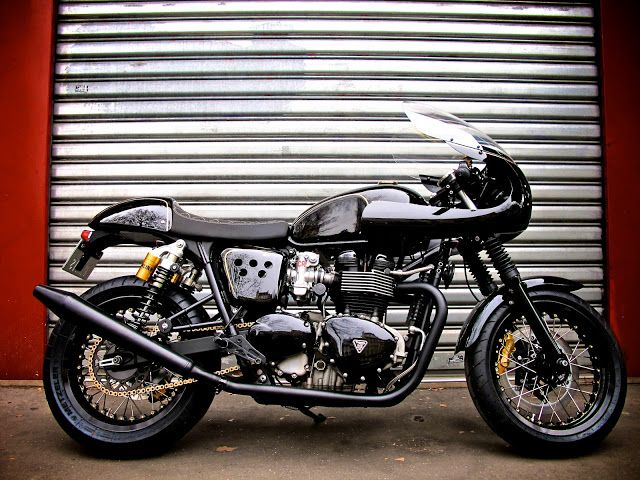 best 25+ triumph cafe racer ideas on pinterest | cafe racers, cafe