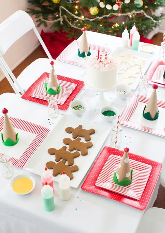 9 Best Childrens Christmas Table Ideas Images On