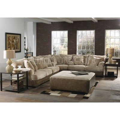 Barkley Sectional Living Room Set (Toast)