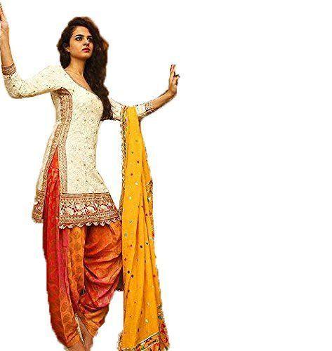Crazy Women's Pure Cotton Embroidred Patiala Salwar Suit Semi Stitched - http://pickeyshop.com/2017/09/26/crazy-womens-pure-cotton-embroidred-patiala-salwar-suit-semi-stitched/