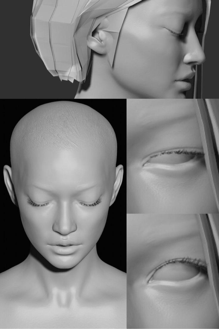 ArtStation - Jane Doe - WIP 2, seungmin Kim