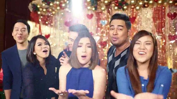 """These are the singers of ASAP: Richard Poon, Juris Fernandez, Erik Santos, Morissette Amon, Jed Madela, and Angeline Quinto singing their hearts out together during the taping of the 2015 ABS-CBN Christmas Station ID, """"Thank You for the Love!"""" #ThankYoufortheLove #ABSCBNChristmasStationID #RichardPoon #JurisFernandez #ErikSantos #MorissetteAmon #JedMadela #AngelineQuinto"""