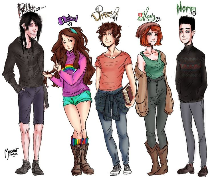 I like Mabel in this pic soooo girlie. Has dipper changed? Eh noooo