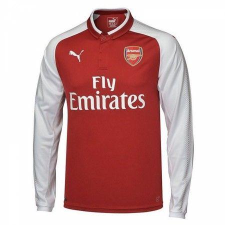Arsenal Hjemmebanetrøje 17-18 Lange ærmer