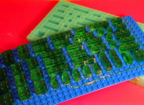 Lego Gummies plus how to make a silicone mold (lego style)