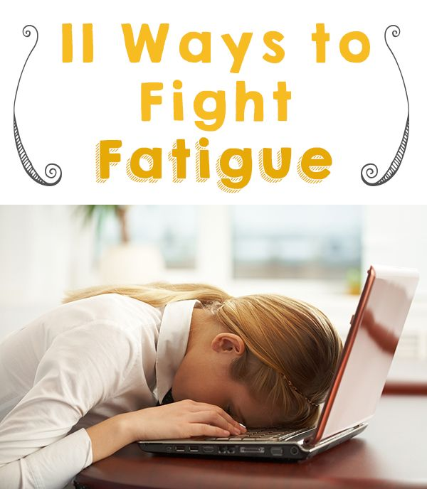 Feeling fatigued can be awful, but the good news is that it's often a fixable problem! :-) Check out these 11 ways to start fighting fatigue and get back to feeling your best.