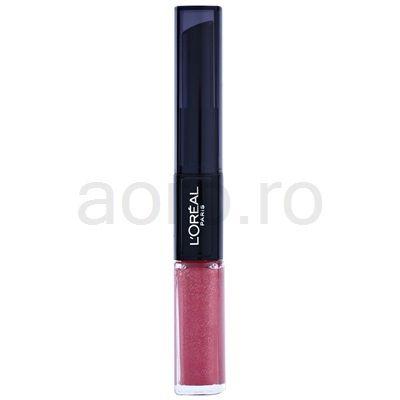 L'Oréal Paris Infallible ruj rezistent si luciu de buze. 2 in 1   aoro.ro