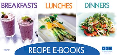 New! TLC-Recipe E-Books and Meal Plans | TLC-for Weight Loss Blog
