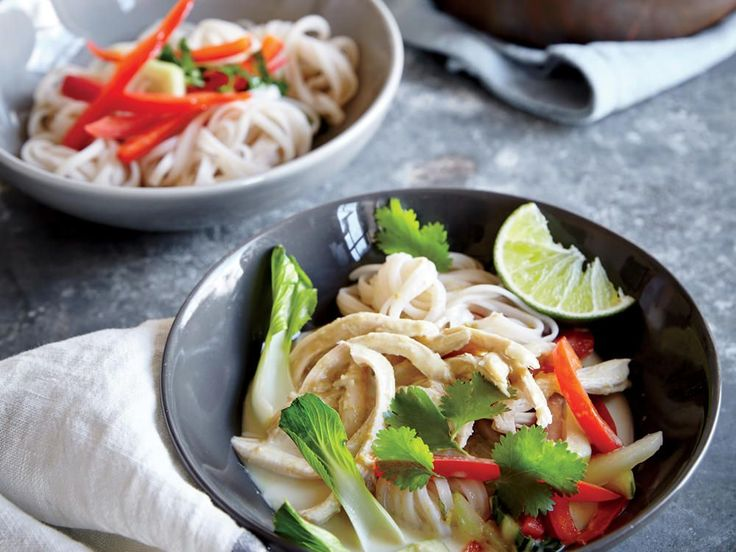 Thai Green Curry Chicken | These flavorful Thai dishes are quick and easy to prepare.