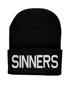 sinner beanie | Details about Sinners Beanie Cool Dope Swag Diamond Knit Hat