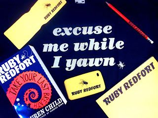 Fiction Fascination: Ruby Redfort: Take Your Last Breath by Lauren Child - Giveaway