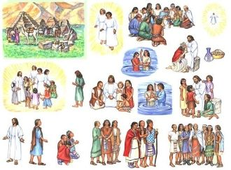 Christ in America book of mormon story