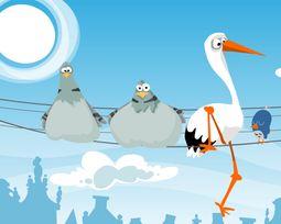 gra muzyczna - ptaszki