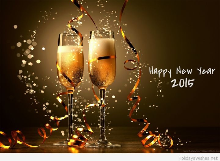 Awesome happy new year 2015 wallpaper
