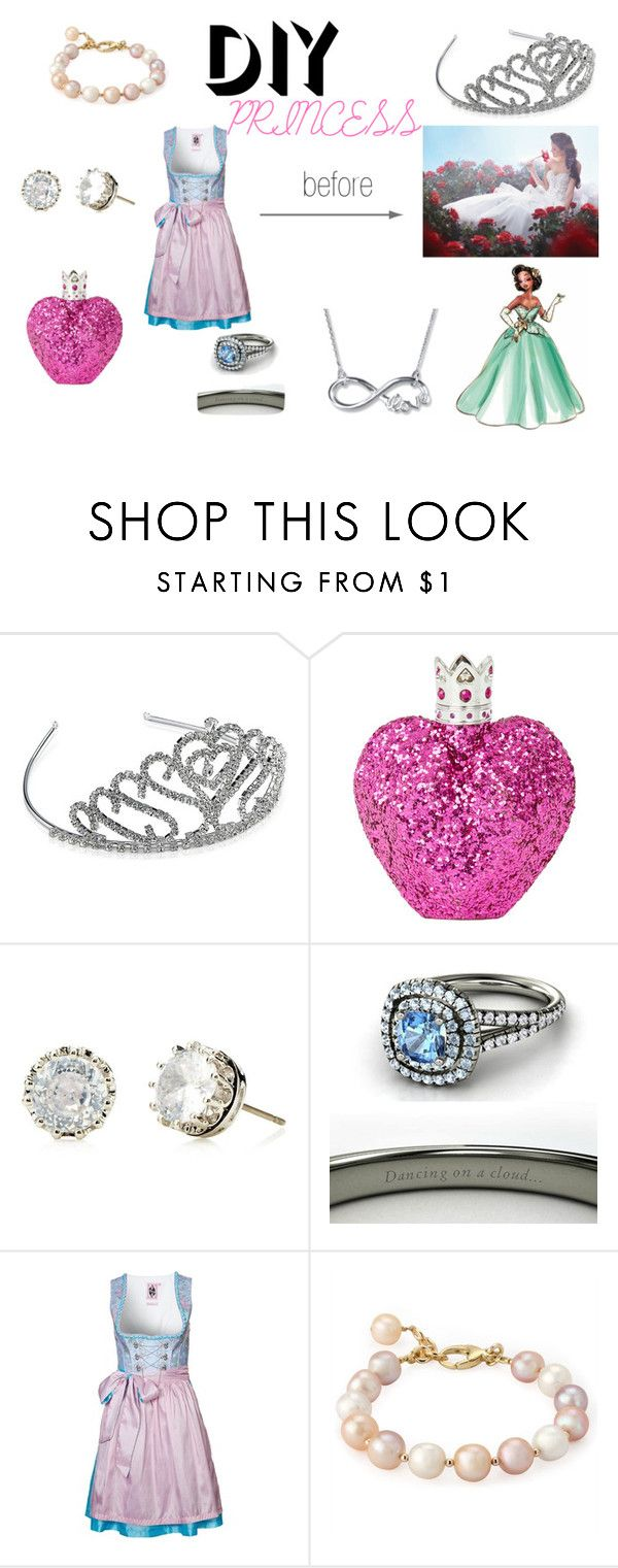 """PRINCESS"" by andrea-chavez-l ❤ liked on Polyvore featuring Disney, Vera Wang, Juicy Couture, GERMAN PRINCESS, Halloween, contest and DIYHalloween"