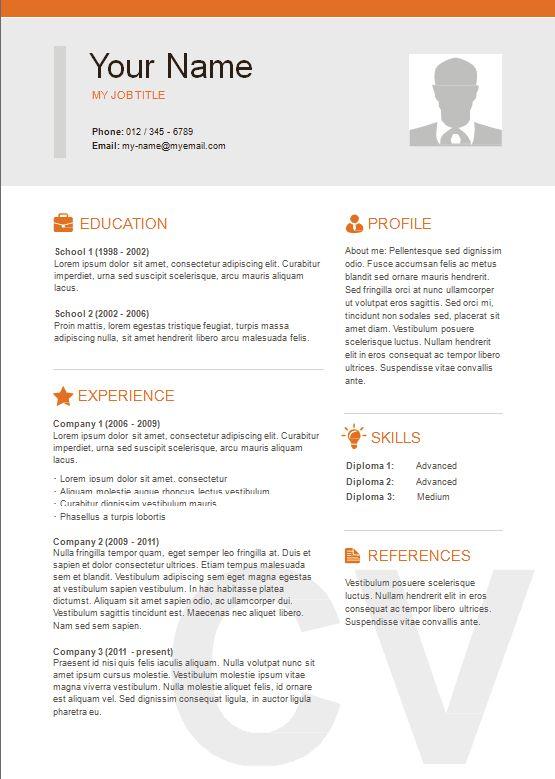 2 column resume format  resume templates  resume