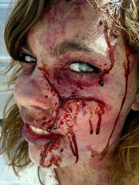Copenhagen Zombie Crawl makeup 2011