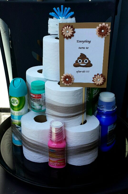 A different kind of cake! Toilette paper fun cake!