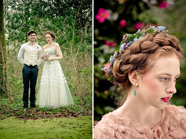 Irish wedding traditionsWedding Dressses, Blue Wedding Dresses, Wedding Hair, Green Wedding Shoes, Wedding Style, Blue Weddings, Green Weddings, Braids Hair, Irish Wedding