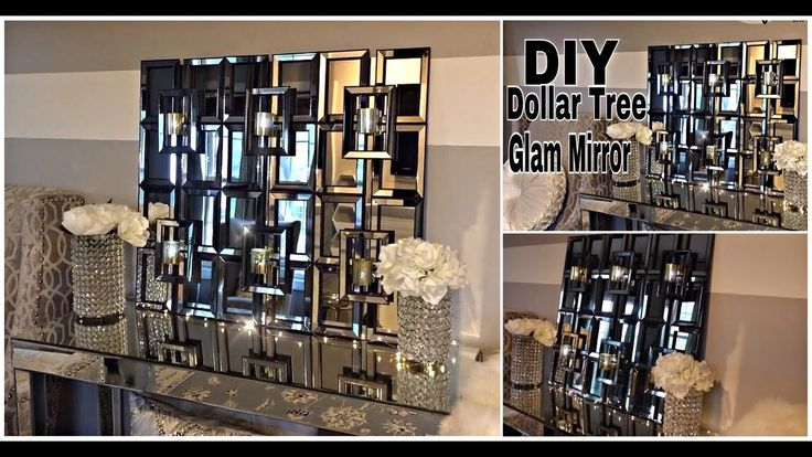 DIY | DOLLAR STORE ROOM DECOR | THE  MOST AMAZING 😱 BOUGIE ON A BUDGET ✨ MIRROR/SCONCE DECOR! - YouTube